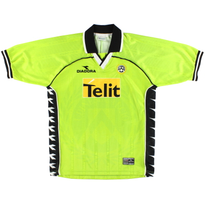 2000-01 Udinese Diadora Fourth Shirt XL