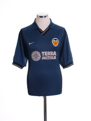 2000-01 Valencia Away Shirt M