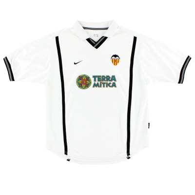 2000-01 Valencia Home Shirt S