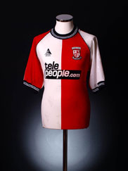 2000-01 Woking Home Shirt M