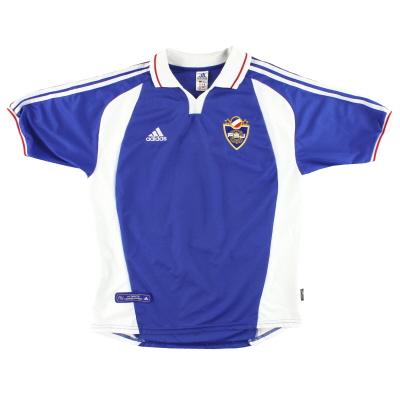 2000-01 Yugoslavia adidas Home Shirt XL