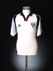 2000-01 Yugoslavia Away Shirt XL
