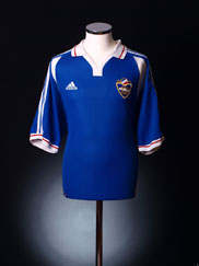 2000-01 Yugoslavia Home Shirt XL