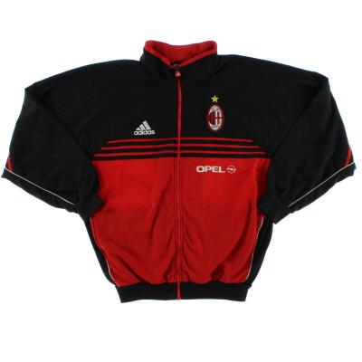 2000-02 AC Milan adidas Track Jacket L
