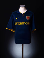 2000-02 Arsenal European Shirt XL