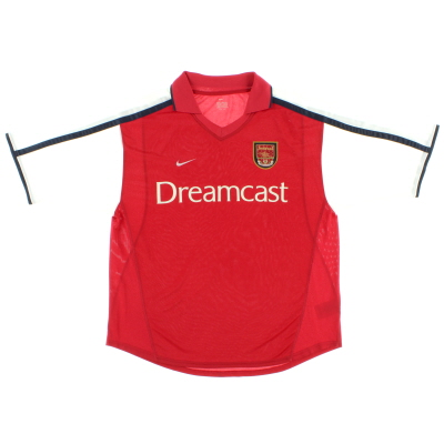 2000-02 Arsenal Home Shirt M