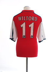 2000-02 Arsenal Home Shirt Wiltord #11 M