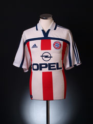 2000-01 Bayern Munich Away Shirt S