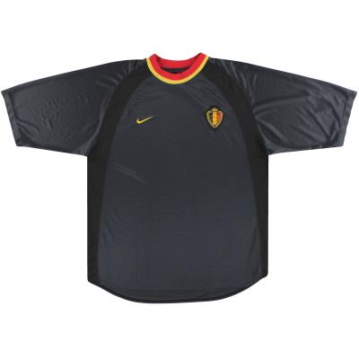 2000-02 Belgium Nike Away Shirt XL