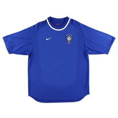 2000-02 Brazil Away Shirt L