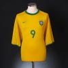 2000-02 Brazil Home Shirt Ronaldo #9 XL