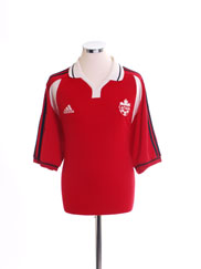 2000-02 Canada Home Shirt *Mint* XL