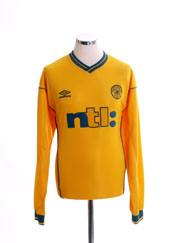 2000-02 Celtic Away Shirt L/S XL