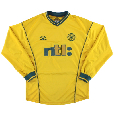 2000-02 Celtic Umbro Away Shirt L/S M