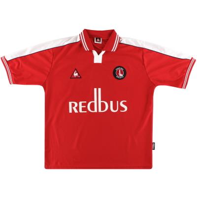 2000-02 Charlton Le Coq Sportif Home Shirt L
