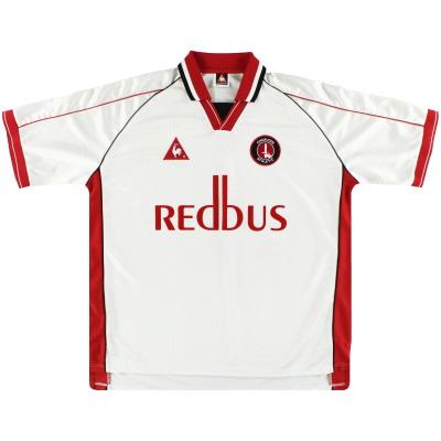 2000-02 Charlton Le Coq Sportif Away Shirt XL