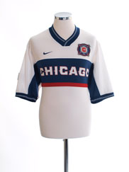 2000-02 Chicago Fire Away Shirt L