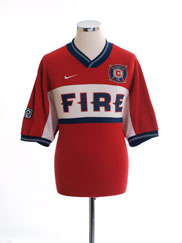 2000-02 Chicago Fire Home Shirt L