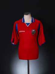 2000-02 Costa Rica Home Shirt XL