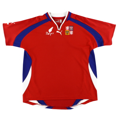 2000-02 Czech Republic Home Shirt L