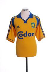 2000-02 FC Brondby Home Shirt L
