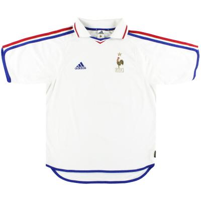 2000-02 France adidas Away Shirt M