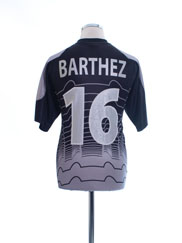 2000-02 France Goalkeeper Shirt Barthez #16 M