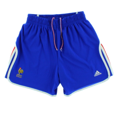2000-02 France Home Shorts M