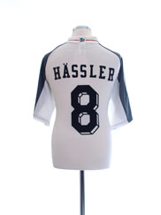 2000-02 Germany Home Shirt Hassler #8 XL