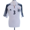 2000-02 Germany Match Issue Home Shirt Rehmer #3 XL
