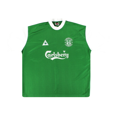 2000-02 Hibernian Le Coq Sportif Home Shirt *Mint* XXL