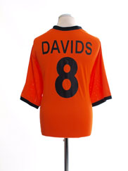 2000-02 Holland Home Shirt Davids #8 XXL