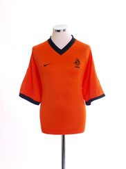 2000-02 Holland Home Shirt XXL