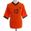 2000-02 Holland Home Shirt v.Bronckhorst #12 M