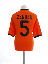 2000-02 Holland Home Shirt Zenden #5 XL