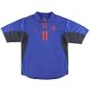 2000-02 Holland Nike Away Shirt Overmars #11 M
