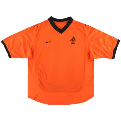 2000-02 Holland Nike Home Shirt L