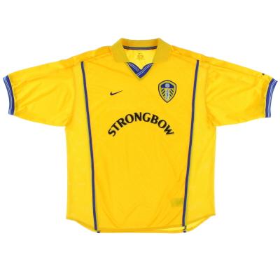 2000-02 Leeds Nike Away Shirt M