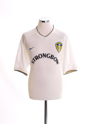 2000-02 Leeds Home Shirt M