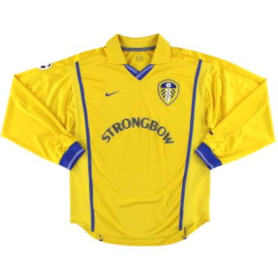 2000-02 Leeds Nike Away Shirt L/S M