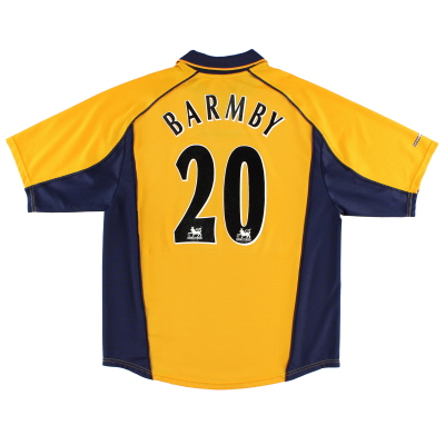 2000-02 Liverpool Away Shirt Barmby #20 L