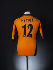 2000-02 Liverpool Away Shirt Hyypia #12 L