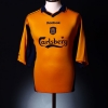 2000-02 Liverpool Away Shirt Henchoz #2 L