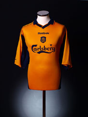 2000-02 Liverpool Away Shirt L