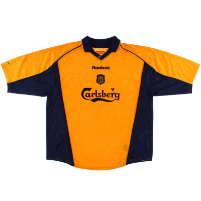 2000-02 Liverpool Away Shirt XL