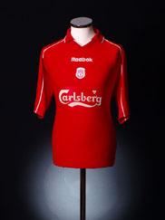 2000-02 Liverpool Home Shirt L