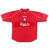 2000-02 Liverpool Home Shirt Redknapp #11 XL