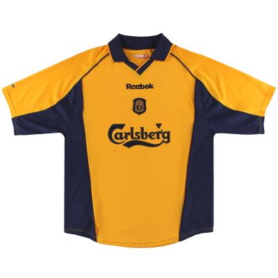 2000-02 Liverpool Reebok Away Shirt Y