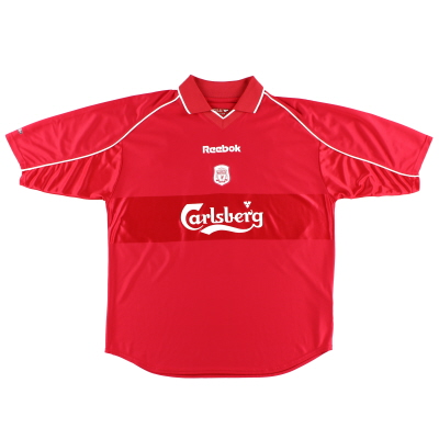 2000-02 Liverpool Reebok Home Shirt L
