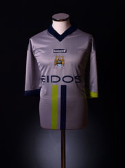 2000-02 Manchester City Away Shirt L